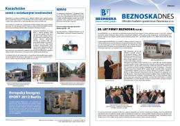 říjnovém bulletinu - Beznoska s. r. o.