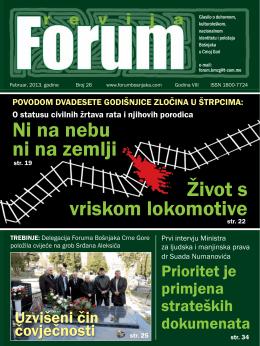 forum 26 - forum bošnjaka/muslimana crne gore
