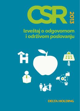 CSR izveštaj 2013