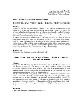 Stručni članak/Professional paper Dušan