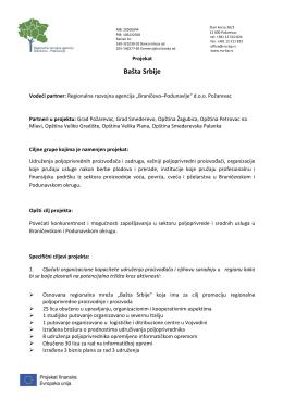 Bašta Srbije - LER Velika Plana