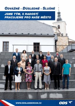 Volební program ODS Lanškroun, PDF