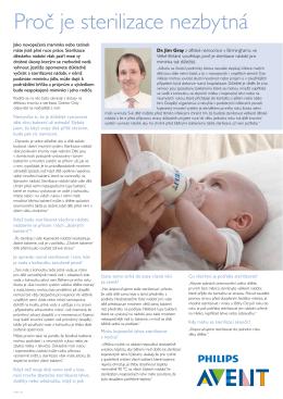 Proč je sterilizace nezbytná