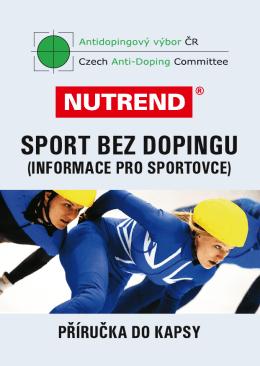 SPORT BEZ DOPINGU - Antidopingový výbor ČR