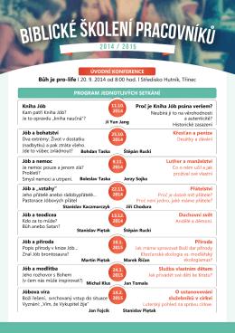 Program BSP 2014-15.pdf - Křesťanské společenství, zs