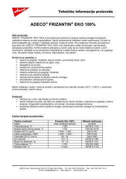 Frizantin EKO 100 pdf