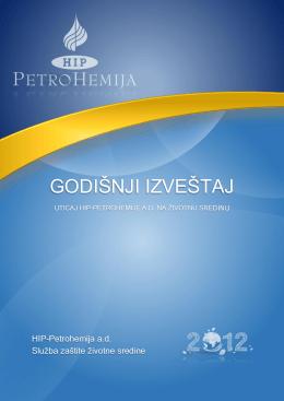 Godišnji izveštaj zaštite životne sredine, 2012.