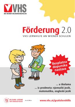 Besplatna dopunska nastava - Die Wiener Volkshochschulen