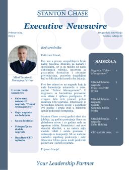 Newswire 9 - Stanton Chase Belgrade
