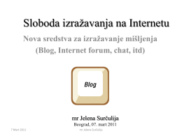 Predavanje br 3 Blog forum chat 07 03 2011.pdf