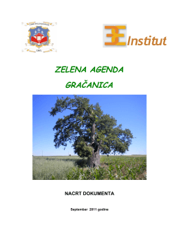 Institut - Green Agenda Network