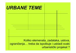 URBANE TEME
