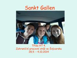 Sankt Gallen - SŠGaS Liberec