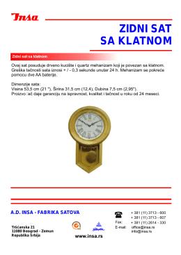 Drveni viseci zidni sat.pdf