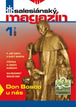 Salesiánského magazínu 1/2013