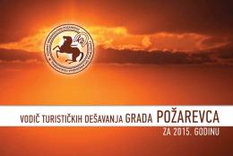 Kalendar manifestacija (PDF File) - Turistička organizacija Požarevac