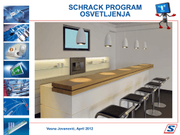 3. Schrack program osvetljenja (Vesna Jovanović)