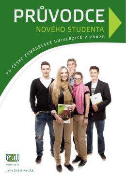 PRŮVODCE - Česká zemědělská univerzita v Praze
