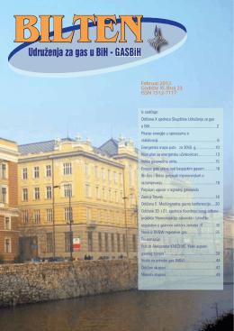 Udruženja za gas u BiH