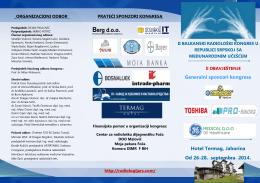 Hotel Termag, Jahorina Od 26-28. septembra 2014