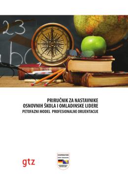 priručnik za nastavnike osnovnih škola i omladinske lidere