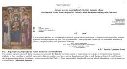 V Smisao poesisa materijalnosti Istočna i zapadna ikona Od