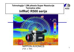 """""""Prezentacija R500 serije"""" Fajl je u PDF formatu"""
