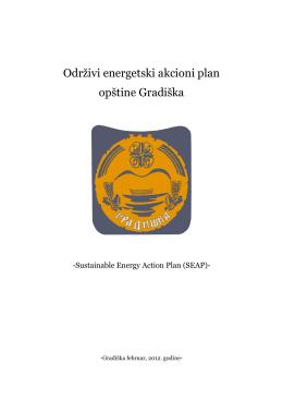 Održivi energetski akcioni plan opštine Gradiška
