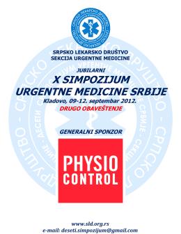 x simpozijum urgentne medicine srbije