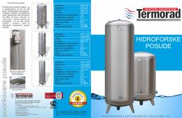 Katalog hidroforskih posuda (MART 2014)
