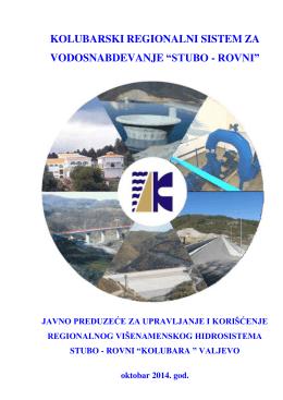 """Promotivni elaborar - JP """"Kolubara"""" Valjevo"""