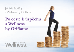 Po cestě k úspěchu s Wellness by Oriflame