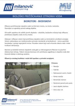 Biološko prečišćavanje otpadnih voda