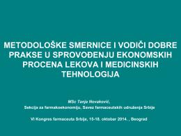 Metodološke smernice i vodiči dobre prakse u sprovođenju