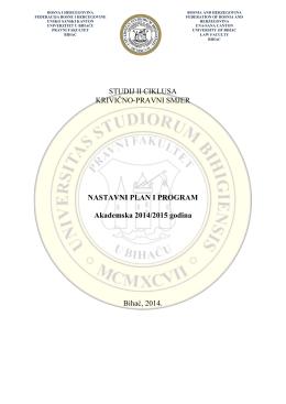 II – GODINA - Pravni fakultet