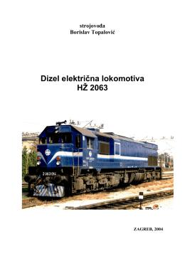 dizel električna lokomotiva - Strojovođe-hr