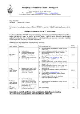 Asocijacija radioamatera u Bosni i Hercegovini