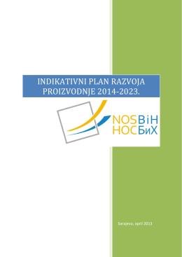 indikativni plan razvoja proizvodnje 2014