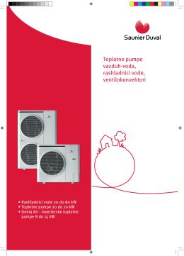 Toplotne pumpe vazduh-voda, rashladnici vode