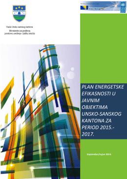 Plan energetske efikasnsoti Unsko sanskog kantona