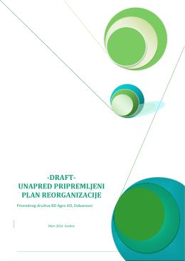 -DRAFT- UNAPRED PRIPREMLJENI PLAN