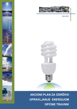 akcioni plan za održivo upravljanje energijom općine travnik