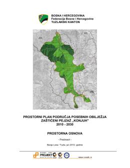 prostorni plan područja posebnih obilježja zaštićeni pejzaž