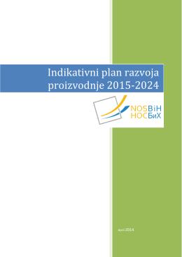 Indikativni plan razvoja proizvodnje 2015-2024
