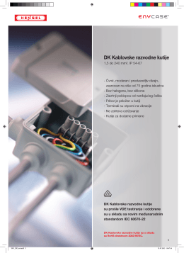 DK Kablovske razvodne kutije