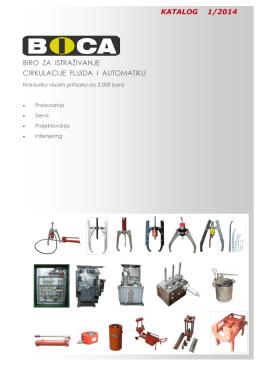 Katalog BICA 2014