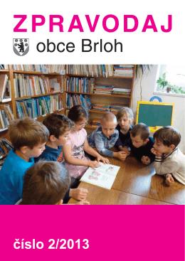 Zpravodaj Obce Brloh 2013/2