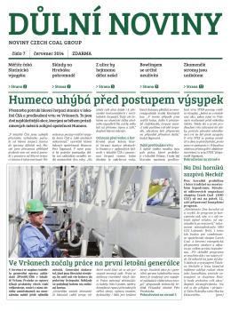 Důlní noviny ročník XVII číslo 7