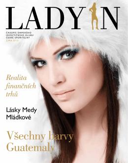 Devatenácté číslo časopisu Dámského investičního klubu LADY IN