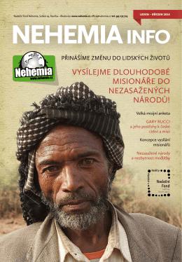 Nehemia INFO leden 2014